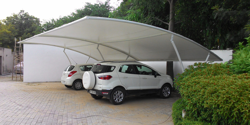 Car Parking Tensile Structure – Tensile Structure